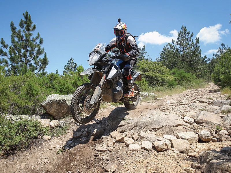 Chris Birch sobre la KTM 790 Adventure R