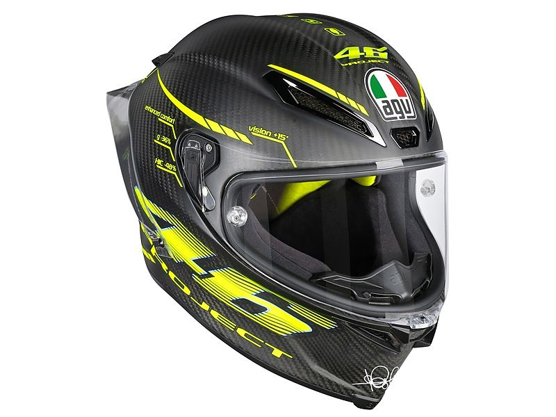 AGV Pista GP R Project 46 2.0 Carbon Matt