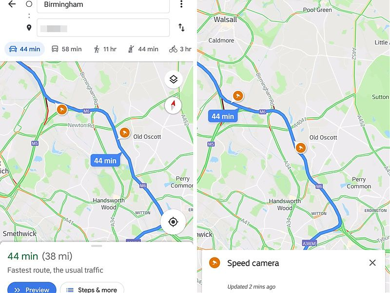 Google Maps comenzará a implementar radares