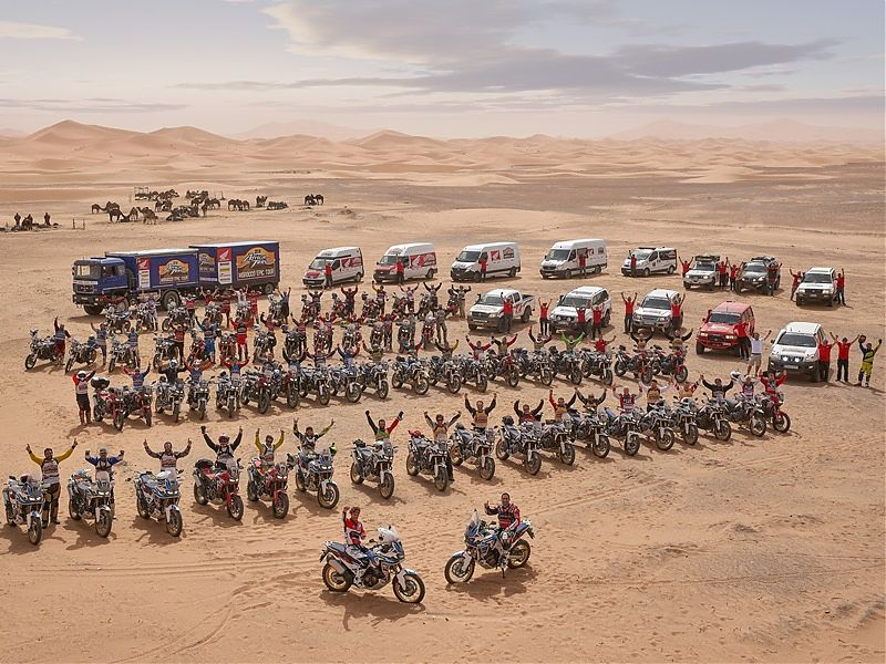 Africa Twin Morocco Epic Tour