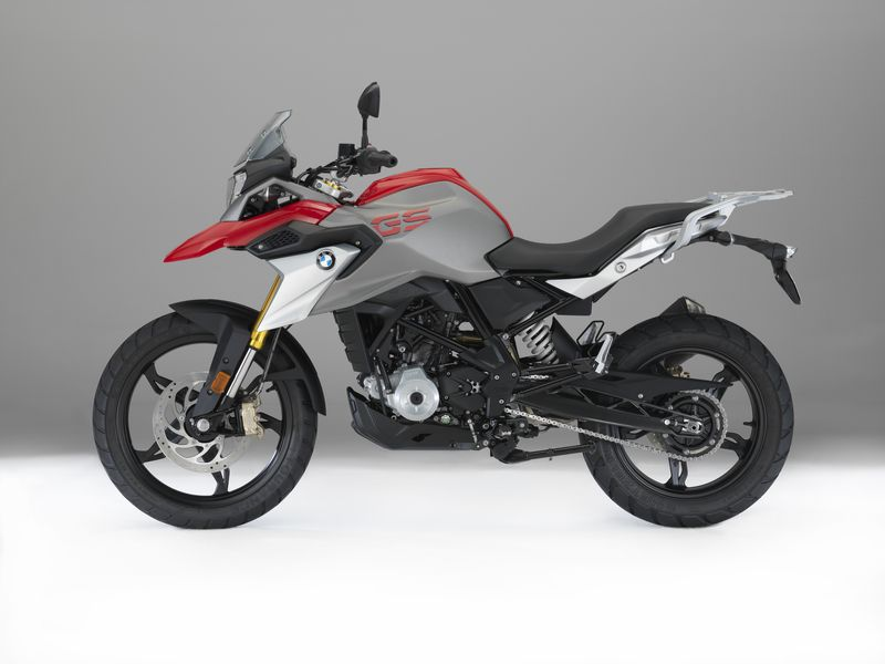 BMW G 310 GS color rojo racing