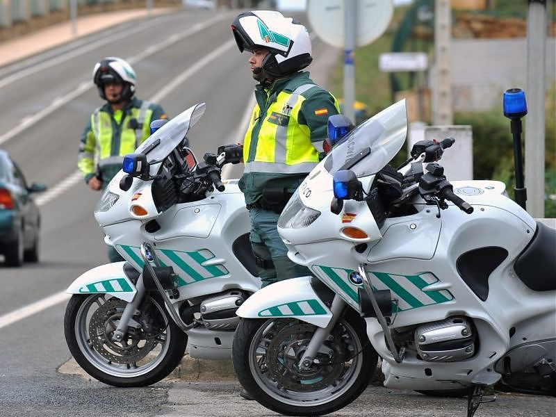 Multas por radar: Guardia Civil