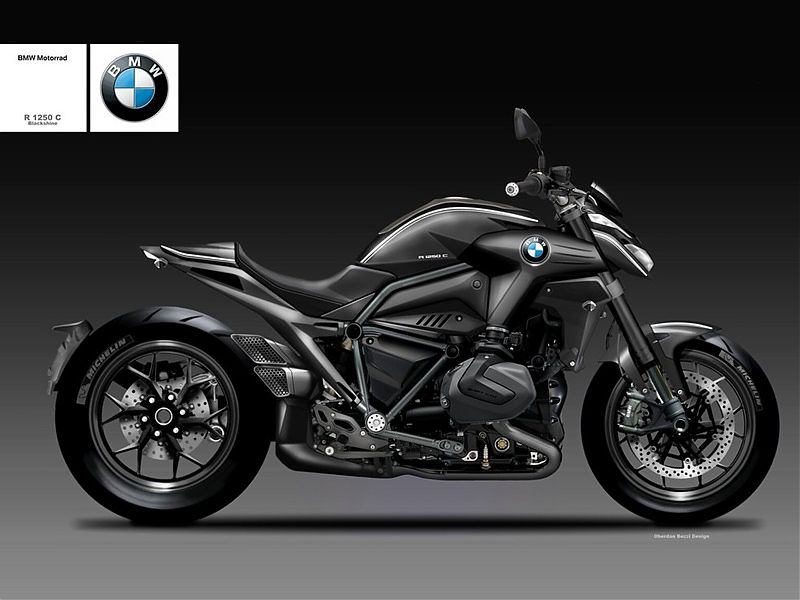 BMW R1250C Blackshine, una imponente cruiser