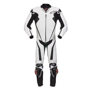Alpinestar Racing Replica Leather Suit - Color Blanco