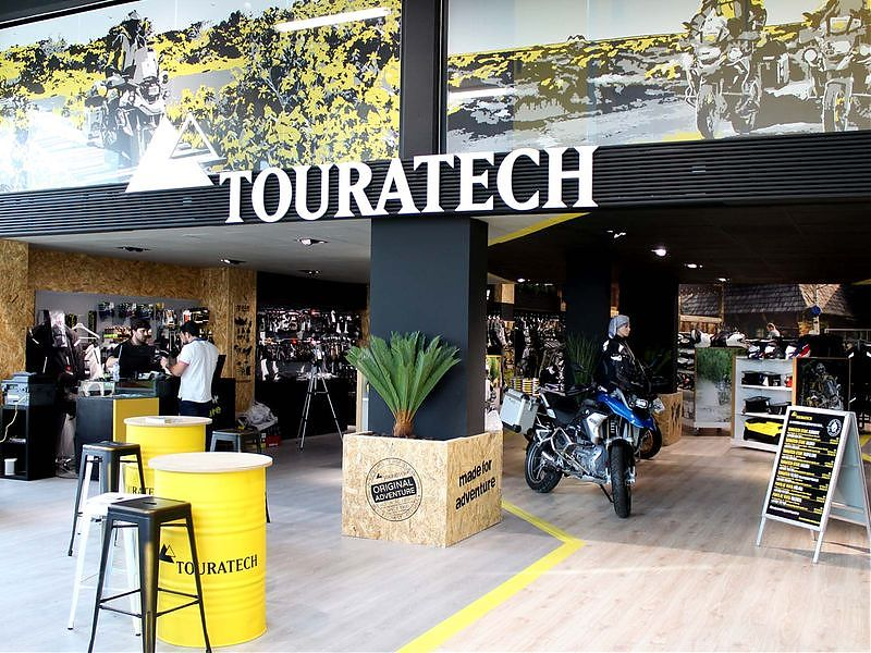 Apertura Touratech Madrid - MotoCenter Levante