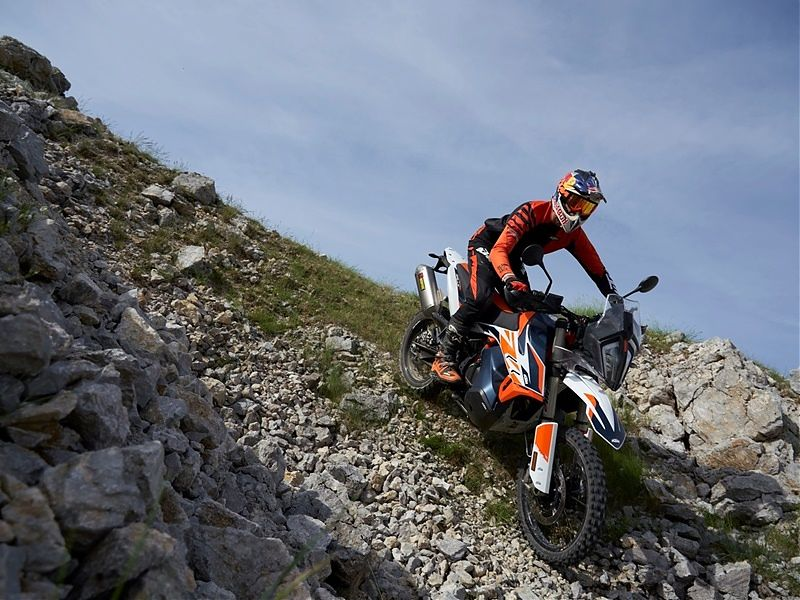 Nueva KTM 790 Adventure R Rally