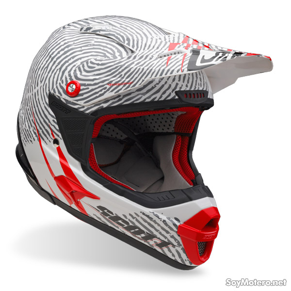 casco off-road Scott Airborne Identity