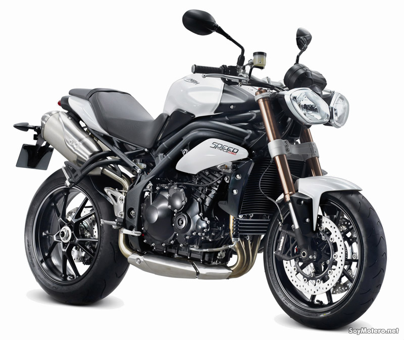 Triumph Speed Triple 2011 - color blanco