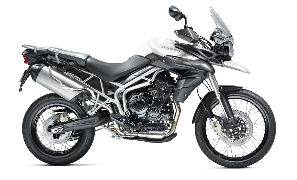 Triumph Tiger 800XC - Color blanco