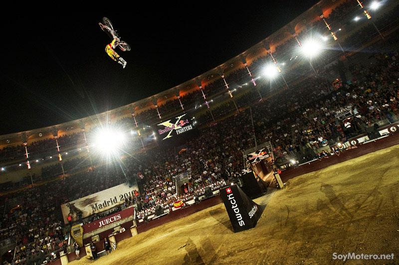 Levi Sherwood, final Red Bull X-Fighters Madrid 2010
