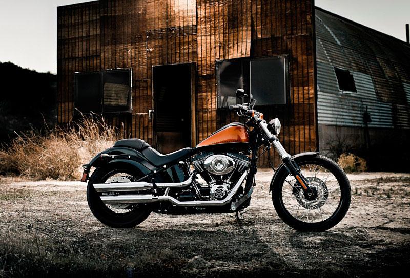 Harley-Davidson Softail Blackline 2011