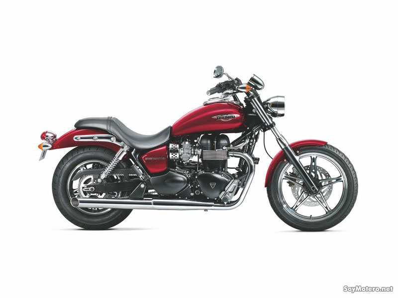 Triumph Speedmaster 2011 - Cranberry Red
