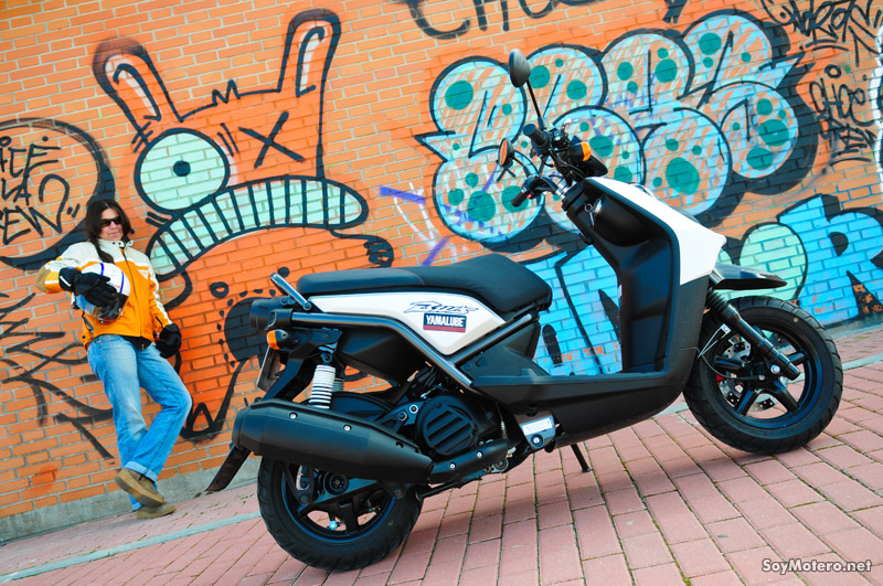Prueba Yamaha BW´s 125: alma joven