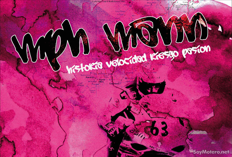 Detalle del cartel del documental español MphMann sobre la Isla de Man y la participación de Antonio Maeso