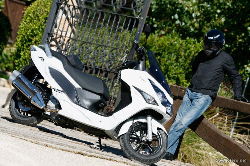 Daelim S3 125 FI, scooter convalidado apto carnet coche
