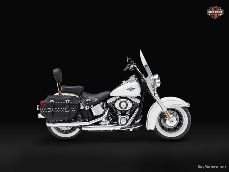 Harley-Davidson Heritage Softail Classic 2012: WHITE HOT PEARL