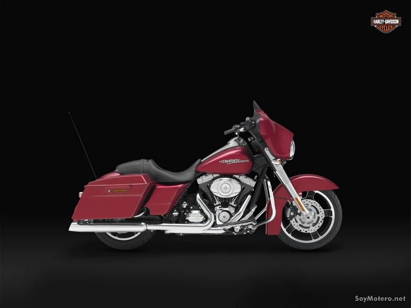 Harley-Davidson Street Glide 2012: EMBER RED SUNGLO