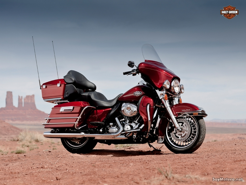Harley-Davidson Electra Glide Ultra Limited 2012: EMBER RED SUNGLO