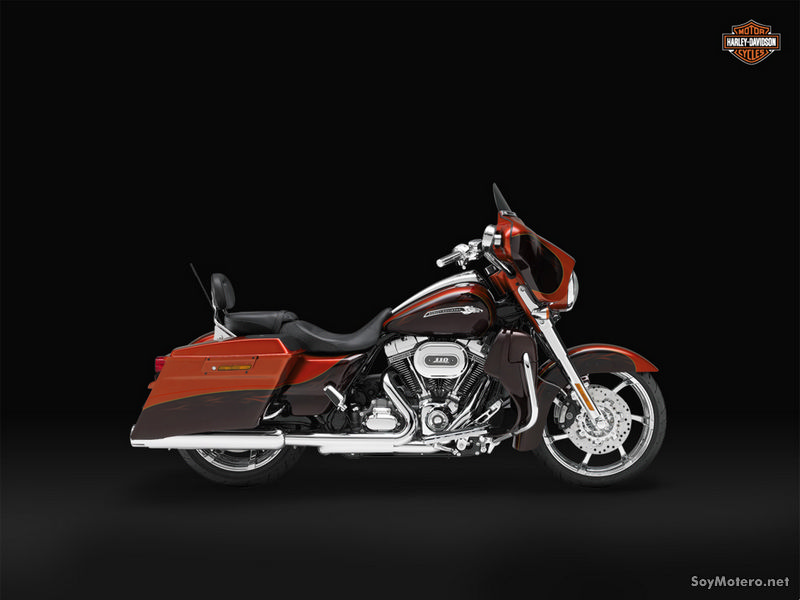 Harley-Davidson CVO Street Glide 2011: Hot Citrus & Antique Gunstock w/ Phantom Flame Graphics