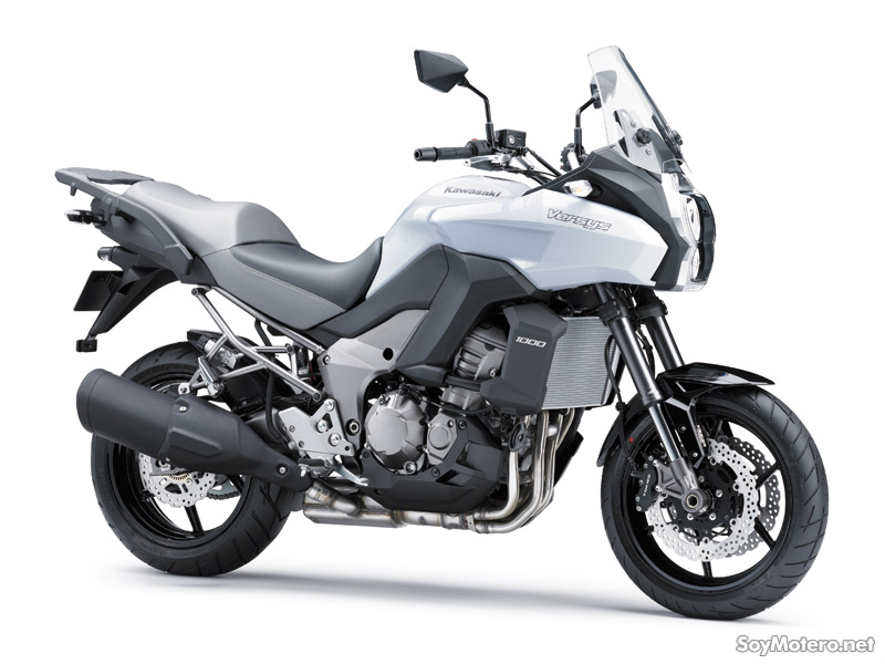 Kawasaki Versys 1000 2012 color blanco