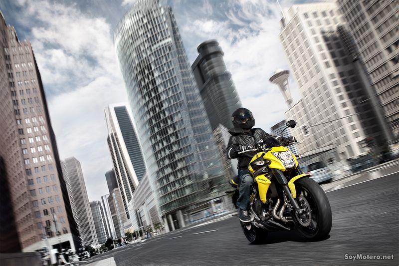 Nueva Kawasaki ER-6N 2012, ya a la venta