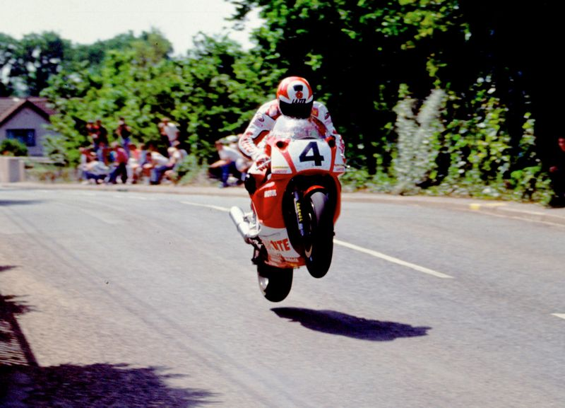 Carl Fogarty, Tourist Trophy, Isla de Man, Yamaha