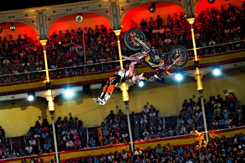 Red Bull X-Fighters Madrid 2012, Levi Sherwood