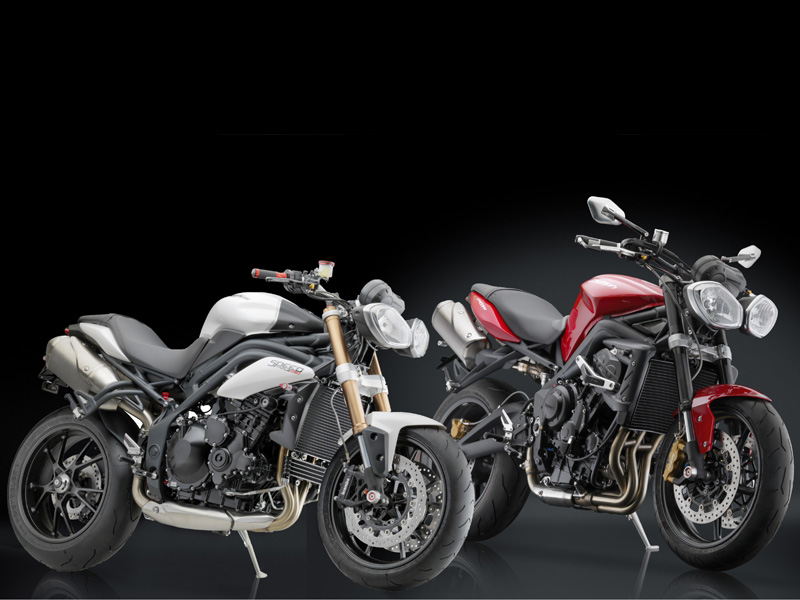 Rizoma viste a las Triumph  Street Triple y Speed Triple