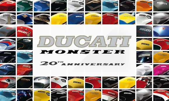 Ducati Monster 20 Aniversario 2013