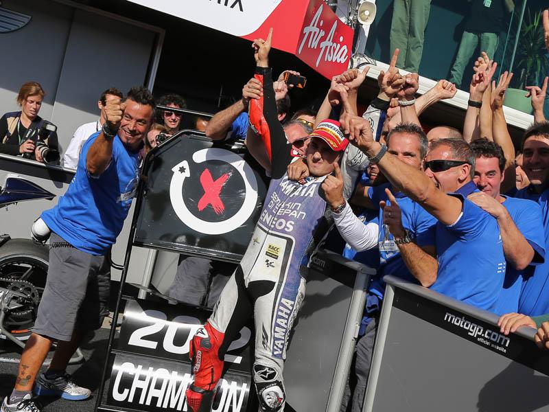Jorge Lorenzo, campeón del Mundo de MotoGP 2012 (GP Australia MotoGP)