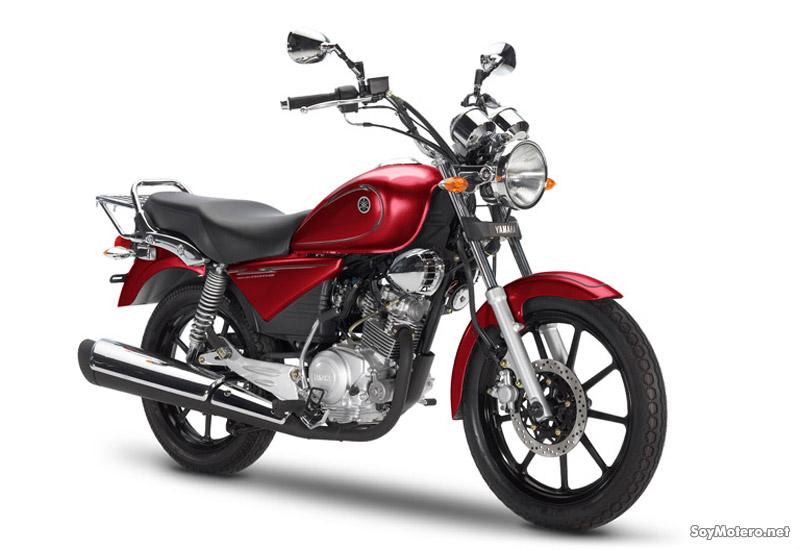Yamaha YBR 125 Clasic SP roja