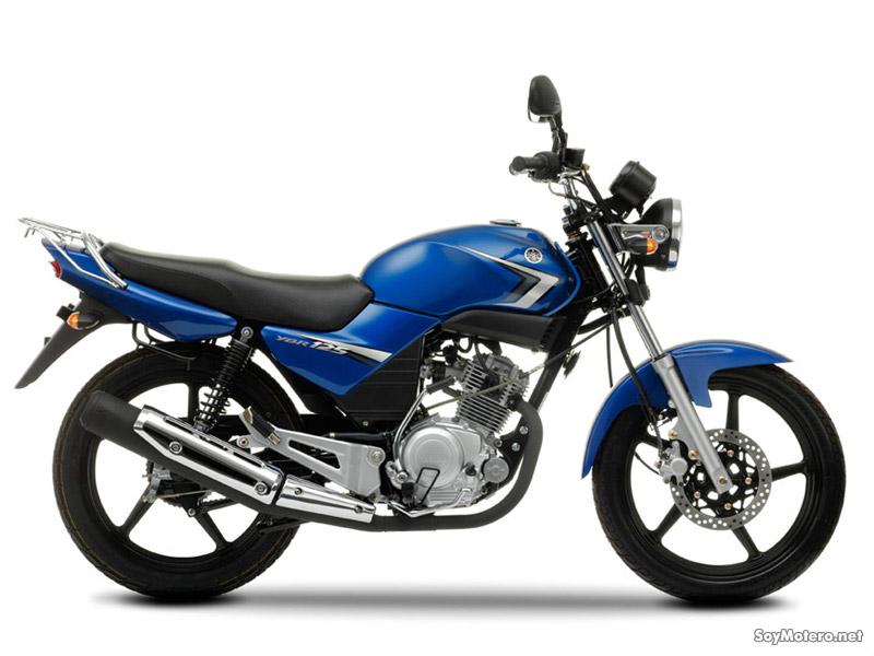 Yamaha YBR 125 azul