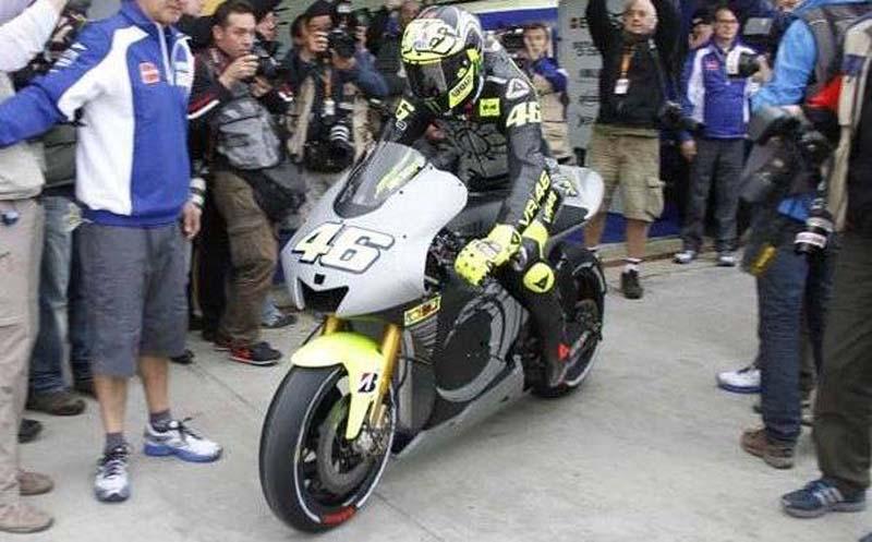 Rossi vuelve a subir a la Yamaha