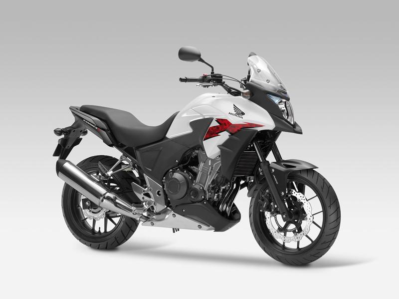 Honda CB500X 2013 blanca