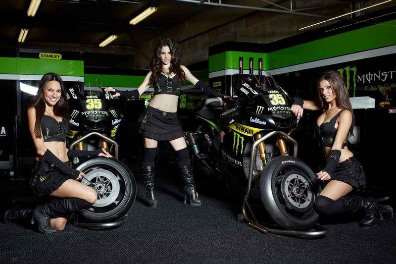 Monster Energy patrocinará al equipo oficial Yamaha en el mundial de MotoGP 2013