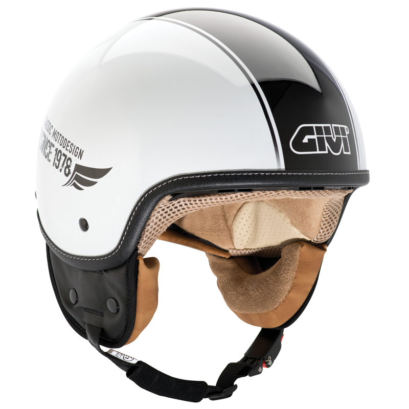 Casco jet Givi 10.9 easy-j blanco