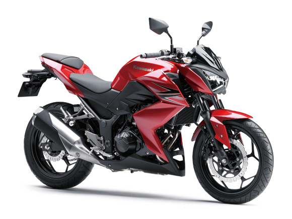 Kawasaki Z250 2013 roja