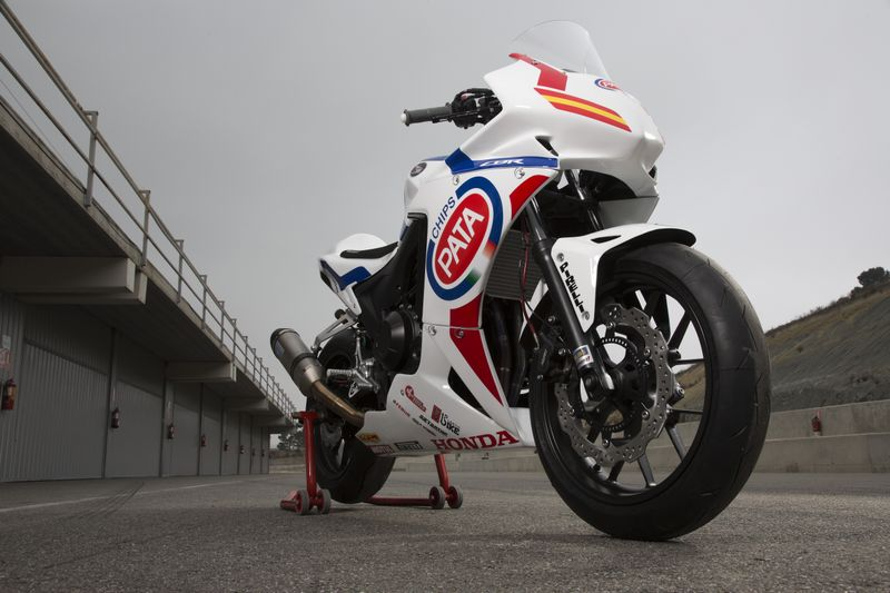 Honda CBR500RR European Junior Cup 2013
