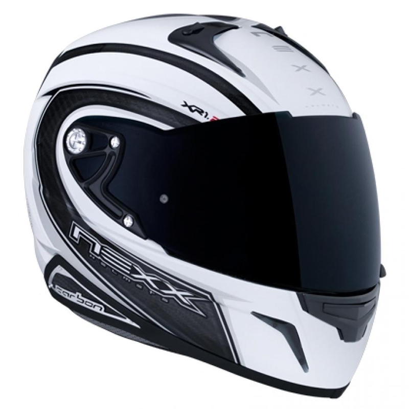Casco NEXX Carbon Speed blanco y negro