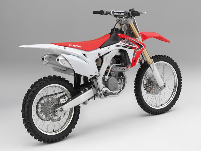 La nueva Honda CRF250R 2014.