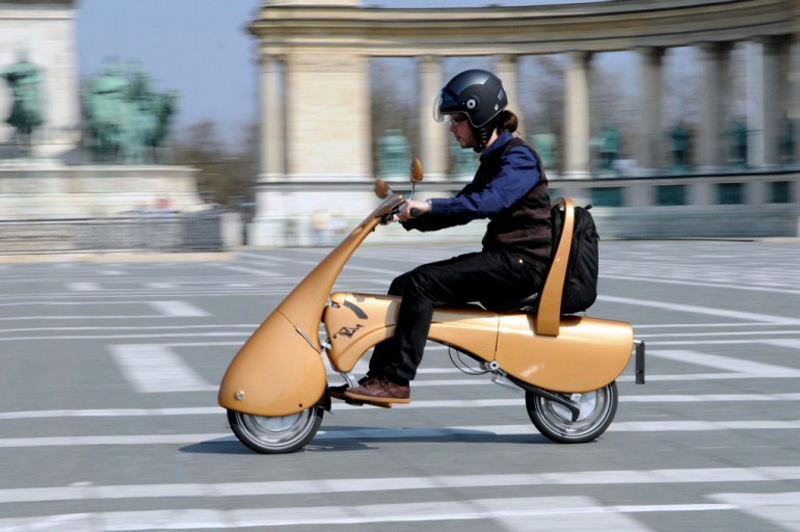 Moveo scooter eléctrico