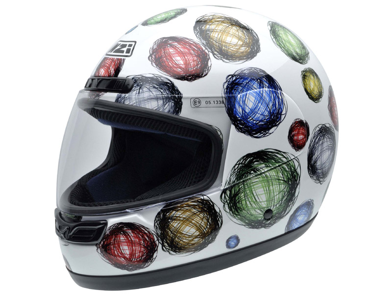 Casco infantil NZI activity scribble