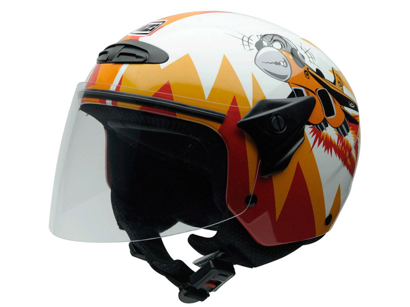 Casco abierto HELIX-II-JUNIOR-CRAZY