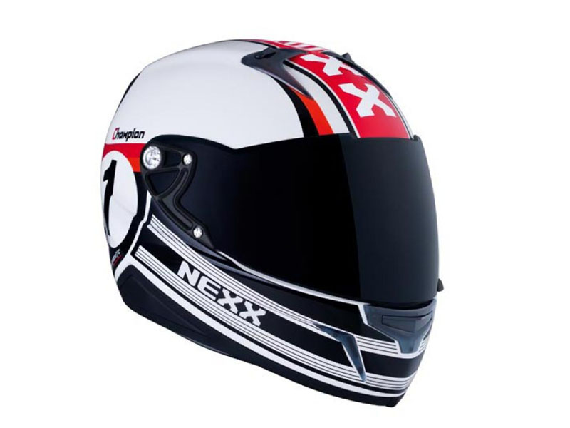 Casco NEXX Champion negro