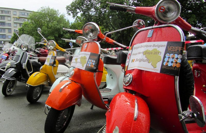 Vespa World Days 2013 en estado puro