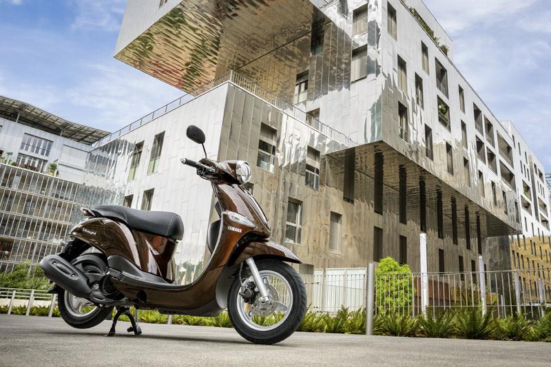 Por tamaño y potencia el Yamaha D'elight está enfocado a un uso ciudadano.