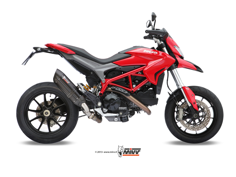 Escapes Ducati hypermotard 821 a