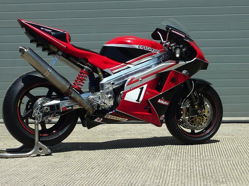 Crighton Racing CR 700 P: Rotativa de carreras