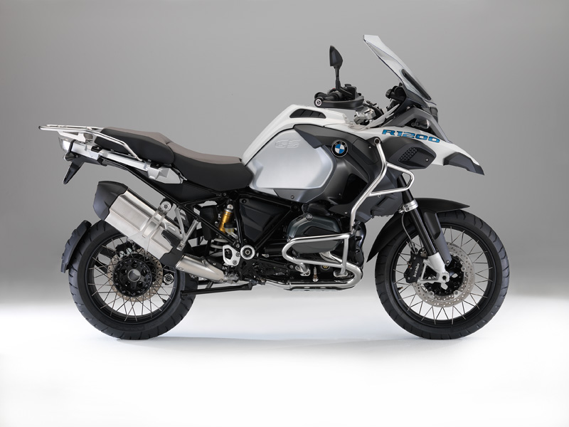 BMW R 1200 GS Adventure 2014 blanca