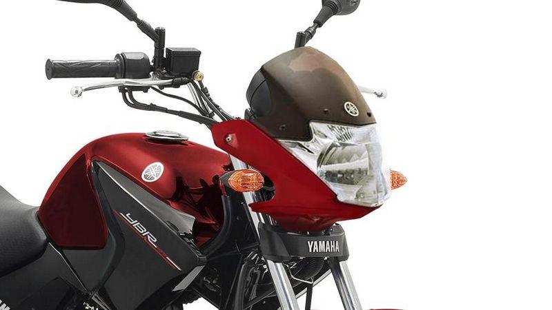 Frontal y depósito de nueva factura en la Yamaha YBR125 2014